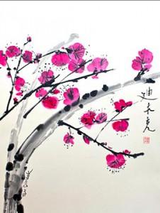 Tom Dimock - Winter Plum Blossoms