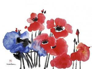 Susan Frame - Poppies
