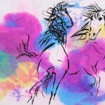 Dee Teller - Dancing Horses