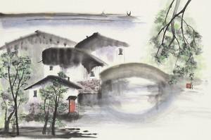 Gail Threinen - Water Village