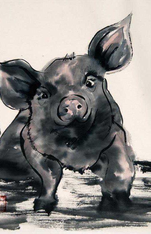 Amy Bounds - Joyful Pig