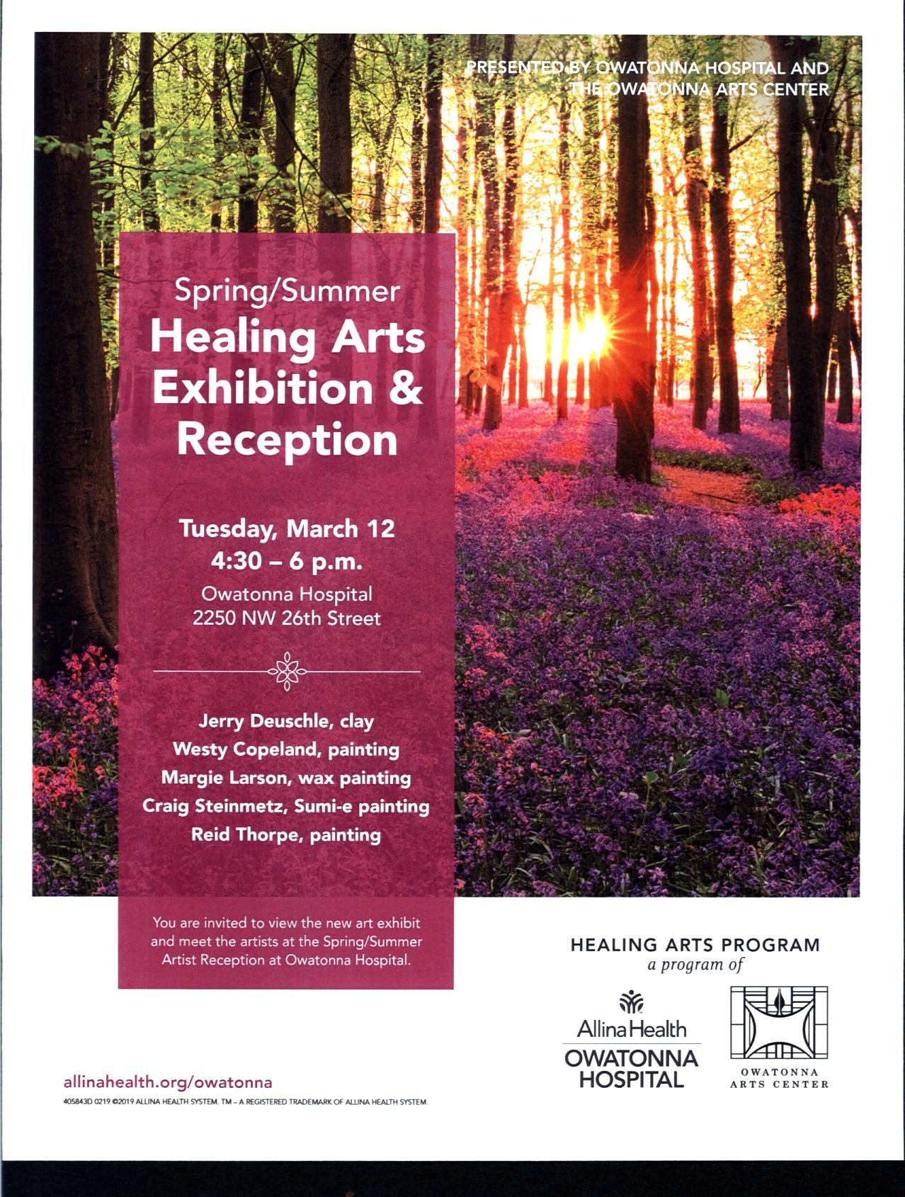 Healing Arts Reception